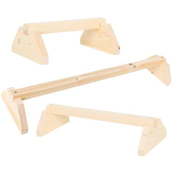 VOSS.farming Chicken Perch for Coop and Pen, Wooden Stand