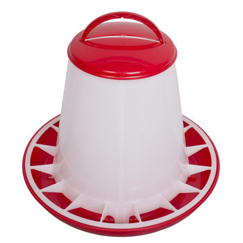 Poultry Feeder for up to 3kg Feed, with Lid