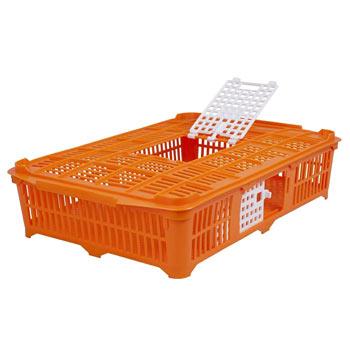 Poultry Transport Crate (67x40x13cm), Suitable for Pigeons/Quail