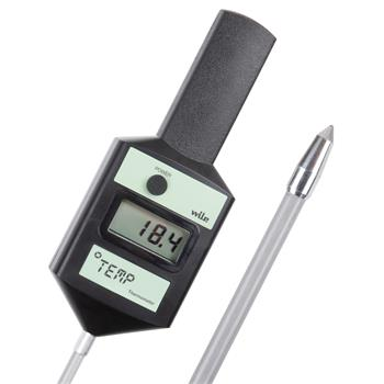 Wile TEMP Moisture Meter for Hay, Straw, Wood Chips, Silage and Grains