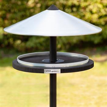 "VOSS.garden Hanging Bird Feeder ""Skagen"", Elegant  Design, incl. Mounting Post"