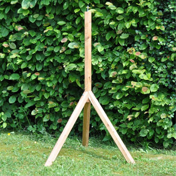 VOSS.garden Bird House Stand, Oak