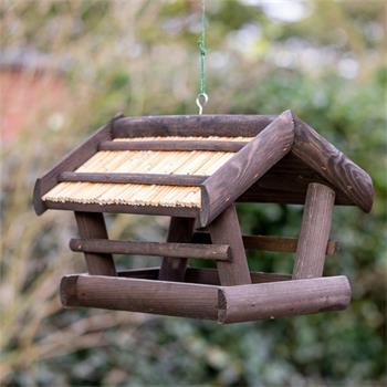 "VOSS.garden ""Elga"" - Wooden Bird House for Hanging"