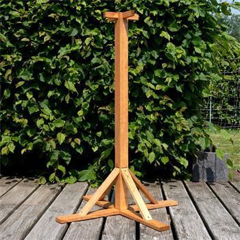 VOSS.garden Wooden Bird Table Stand, 100cm