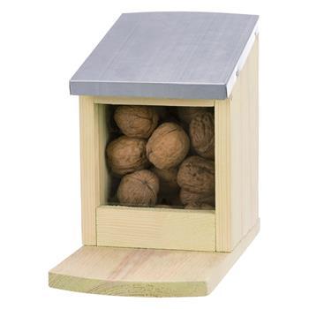 Squirrel Feeding Station, Pine, 24 x 12 x 18 cm