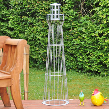 VOSS.garden Light House 135cm, Galvanised