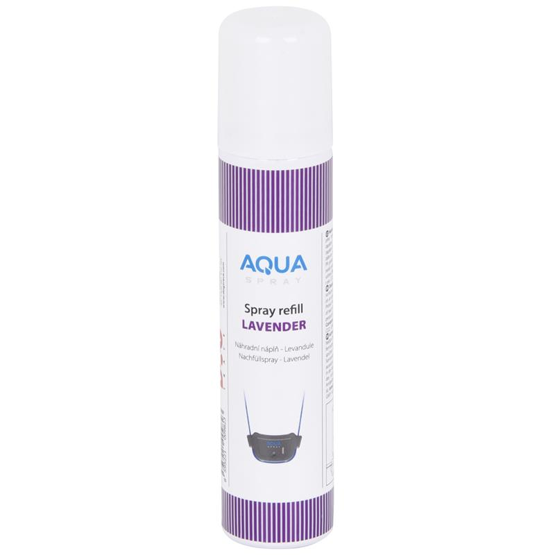 Dogtrace Quot Aqua Spray Quot Refill Spray Can Lavender Suitable