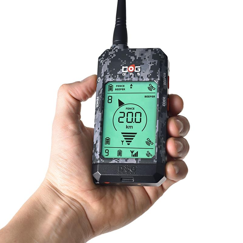 DogTrace GPS X20 Professional Dog Tracker for Hunters, Black