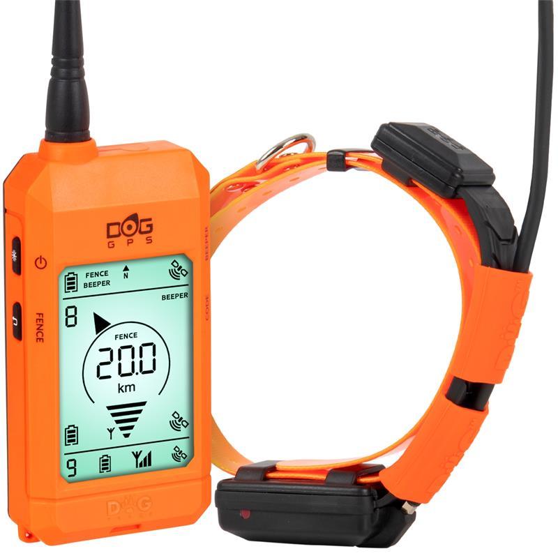 Dogtrace Gps X20 Professional Dog Tracker For Hunters Orange