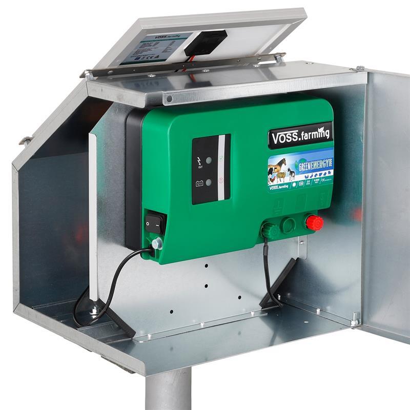 Voss Farming 12w Solar Set Anti Theft Box Mounting
