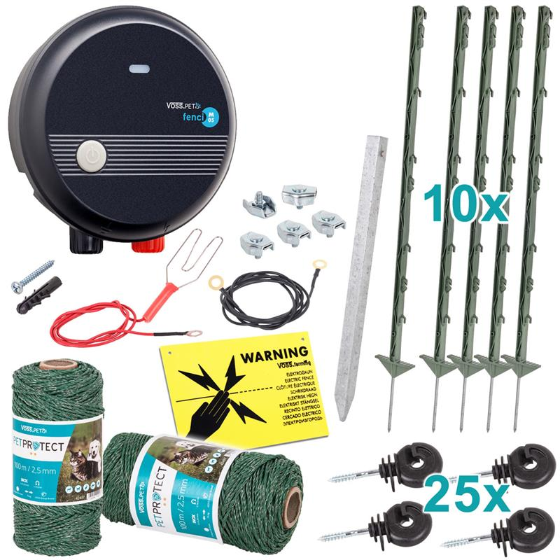 Secure Dog Fence With Our Complete Kit For Small And