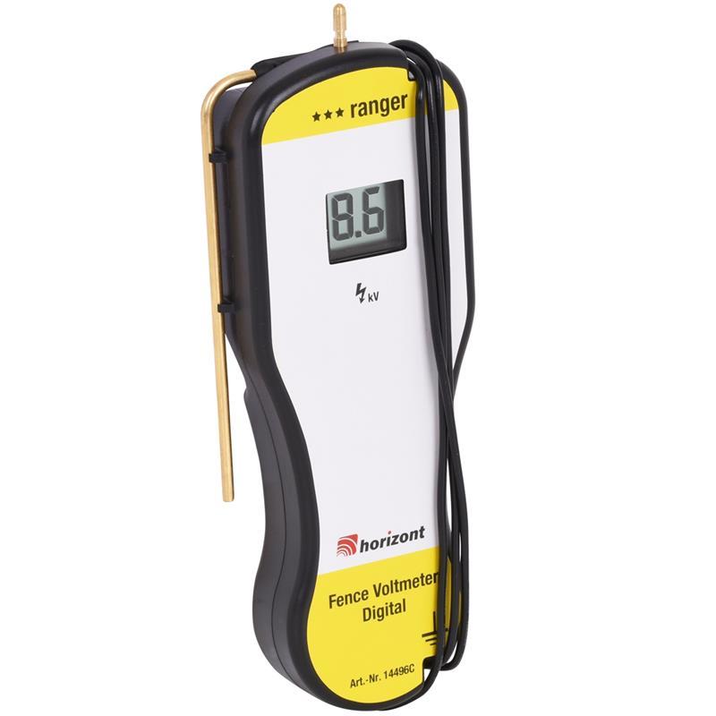 Checking Electric Fence With Voltmeter : Fence tester digital volt meter