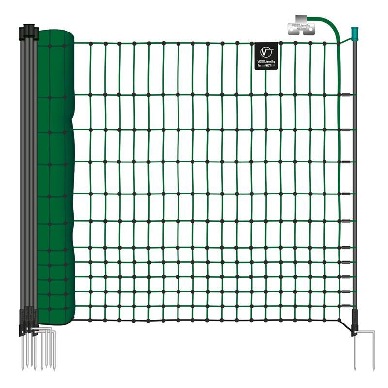 45776.uk-3-voss.farming-electric-fence-complete-starter-kit-poultry-12v-energiser-25m-green-netting.