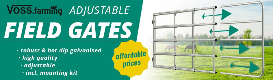 Adjustable Field Gates