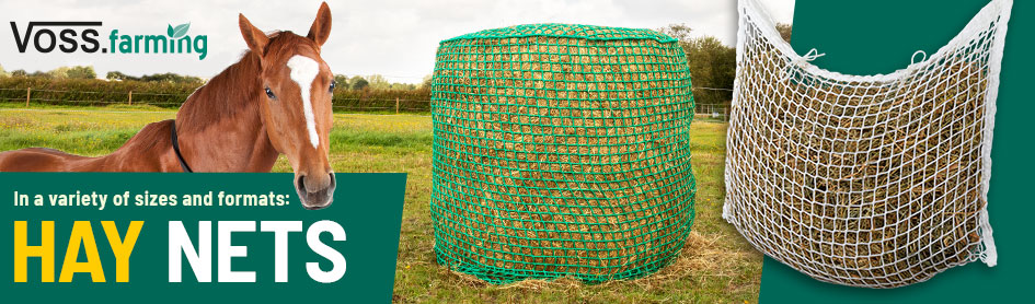 Voss.farming - hay nets in a variety of sizes and formats