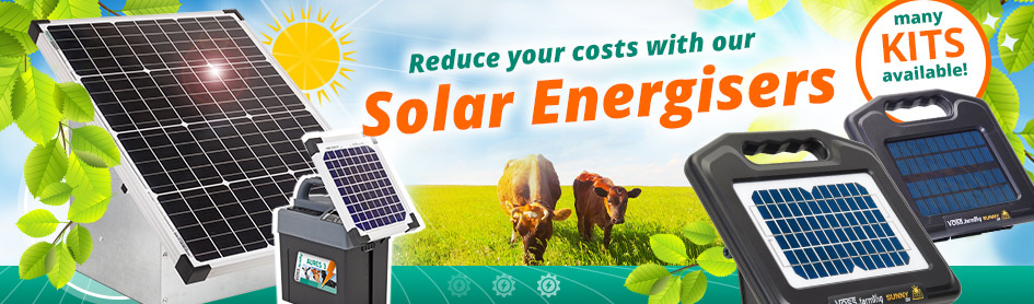 Reduce your costs with our Solar Energisers