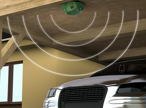 voss-sonic-360-on-garage roof