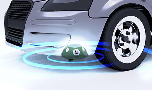 VOSS.Sonic 360 under a car